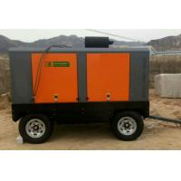 Road Construction Portable Screw Air Compressor 13 Bar 132KW 12 m³/min Manufactures