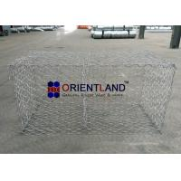 China Slope Protection Retaining Wall Gabion Wire Baskets 2.0/2.7/3.0/4.0mm Wire Gauge on sale