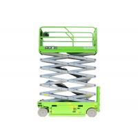 China Electric Aerial Lift Equipment Scissor Lifts Machine With 13m Working Platform on sale