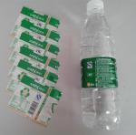 PVC Water Bottle Shrink Sleeve Labels For Detergent Bottle Packaging Manufactures