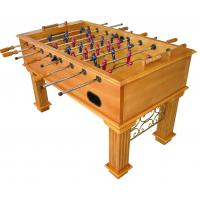 Sport Competition Soccer Game Table 5 Feet Tournament Foosball Table With Wood Veneer Manufactures