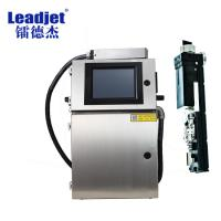 China Continuous Batch Number Inkjet Printing Machine For Plastic Bags/Rubber Tube on sale