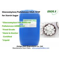 Stable Activity Glucoamylase Enzyme / Pullulanase Blended Enzyme For Starch Sugar Manufactures