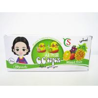 14.4g Mixed flavor powder CC stick candy in box / mixed fruit sweet HACCP,ISO22000 Manufactures