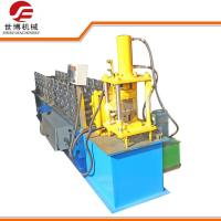 China Metal Profile U Channel Roll Forming Machine 12 Rows Rollers For Shutter Door Track on sale