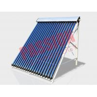 15 Tubes Heat Pipe Vacuum Tube Solar Collector Sloped Roof For Residential Manufactures