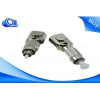 Buy cheap FTTH FC SC LC ST SM/MM RoHS Square Bare Fiber Optical Cable Adapter < 0.2DB from wholesalers