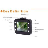 High resolution Night Vision  HD Car DVR with GPS G-sensor ,  SD card Manufactures