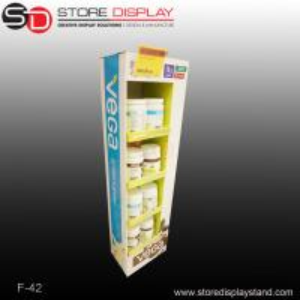 pharmacies currugated cardboard displays stand shelf Manufactures