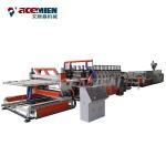 WPC PVC Foam Plate Making Machine Furniture Board Kitchen Cabinet 50 HZ 3 Phase Manufactures