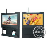China Wifi 5G Wall Mount LCD Screen Mobile Phone Charging Station 15.6 Inch 1366*768 on sale