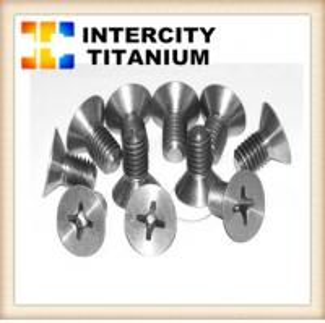 China China titanium fastener manufacture DIN912/DIN933/DIN934 for GR2 titanium bolt/titanium screw on sale