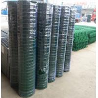 PVC coated holland wire mesh fence black green wire mesh Manufactures