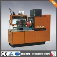 China 12PSB-BFD computer control large torque bosch diesel fuel injection pump test bench on sale