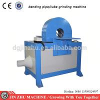 China bending pipe hairline finishing machine for grinding tubes with angle on sale