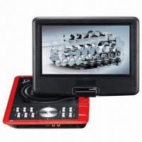 China 9.5-inch Portable DVD Player with TV Tuner, USB, SD, Remote Control and Rotating Design on sale