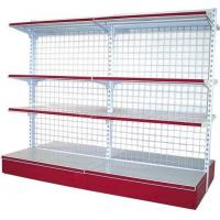 China Cold Roll Steel Supermarket Display Racks Four Layers For Beverage on sale