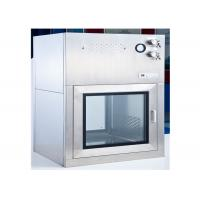 Dynamic Cleanroom Pass Through Box With Electromagnetic Interlock Manufactures