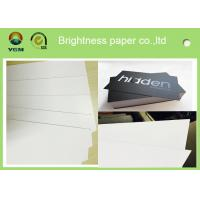 White Coated Glossy Printing Paper Sheets For Gift Box 250gsm - 400gsm Manufactures