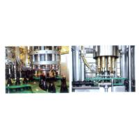 Liquor / Wine / Beer Glass Bottle Filling Machine , Pure Water Filling Plant 18-18-6 Manufactures