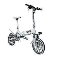 Mini Portable Folding Electric Bike / Fold Up Electric Bicycle 36V7.8Ah 14 Inch Manufactures