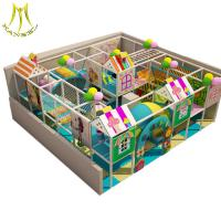 China Hansel  indoor play gyms for toddlersinflatable bounce indoor playground equipment on sale