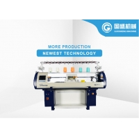 China Synthetic Shoe Upper Computerized Flat Bed Knitting Machine on sale
