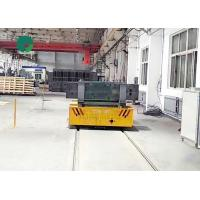 China Heavy load factory transport automatic cable power rail mounted transfer trailer for dies on sale