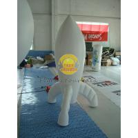 Quality Durable High quality 0.28mm PVC Advertising Customized Rocket Shaped Balloons for Opening Event PRO-10 for sale
