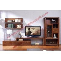 Classic Design Solid Wood Material TV Stand for Wall Unit in Living Room Furniture Manufactures