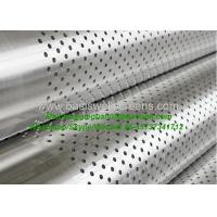 China manufacture API standard 6-5/8 perforated steel pipe for drainage Manufactures