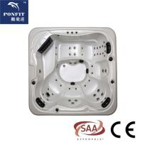 ponfit 5 - 6 Persons (1 Lounges) hot tub spa with colorful acrylic Manufactures