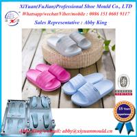 China Eva Slipper sansal sole Mould Shoes Mould, two colors EVA shoes injection mold, shoe mould on sale