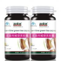 China Factory Supply Natural Botanical Slimming Capsule Green Tea Extract+ Garcinia Cambogia Weight Loss Caps on sale