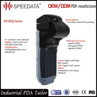 GSM Gprs Mobile Handheld Smart Card Reader with NFC Reader Writer / Thermal Printer Manufactures