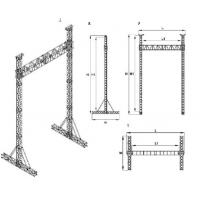 Environmental Friendly Aluminum Roof Truss , Customized Heavy Duty Aluminum Box Truss Manufactures