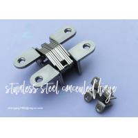 Furniture Cabinet Stainless Steel Concealed Hinges Angel cupboard Hinge Manufactures