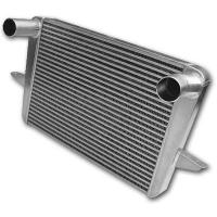 Aluminum Finned Tube Heat Exchanger For Diesel Engine / Generator / Automobiles Manufactures