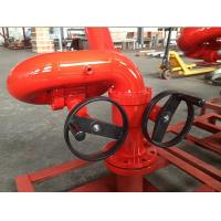 Manual Operation 350m3/h Seawater Fire Water Foam Monitor Manufactures