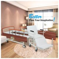 Wooden Headboard Reclining Hospital Bed For Patient 2080*960*540mm Manufactures