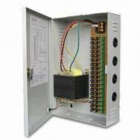 110 to 220V AC/10A CCTV Power Supply with 24V AC Output Voltage and 18-channel Camera Manufactures