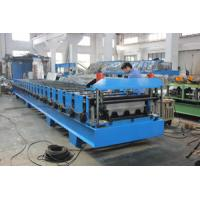 Metal Deck Forming Machine Cutting Blade Cr12  235 - 550Mpa Stress 30kw Manufactures