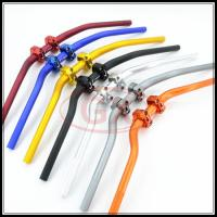 Hotsell Modify Aluminum Motorcycle CNC Steering Handlebar with Block 22mm 28mm * 70mm 73mm 7colors for your choice Manufactures