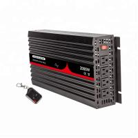 China Pure Sine Wave 60 HZ 12V Solar Power Inverter 2000W With LED Red Light on sale