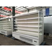 Heavily Loaded Shelf Open Display Fridge , Open Chiller Supermarket Showcase Manufactures
