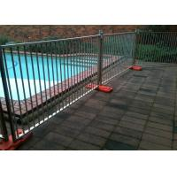 Multi Function Temporary Pool Fencing Removable Pool Fence No Drilling Manufactures