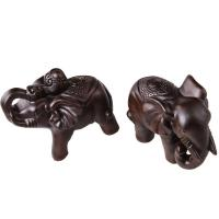 Quality Hot new fashion penguin sculptures wooden animal toys for home decor for sale