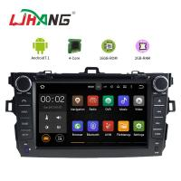 China Left Hand Driving Multimedia Toyota Car DVD Player With MP3 MP4 DVR AUX on sale