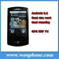 Flying F602 dual sim android gps mobile phone with 3.2inch multi-touch,WIFI, Compass Manufactures
