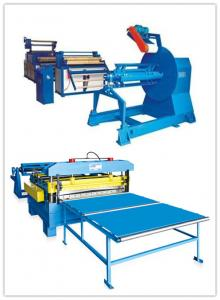 China Electric Strip Steel 6.0mm Cut To Length Machine on sale